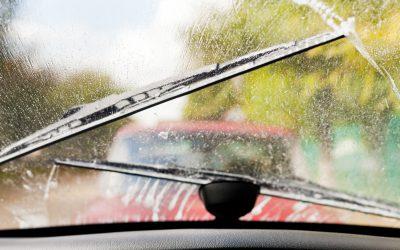 Automobilisten verwaarlozen ruitenwissers