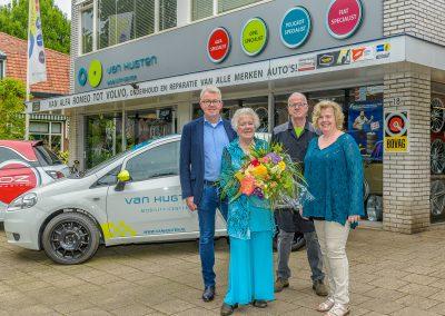 Autobedrijf Van Hugten Bilthoven 65 jaar